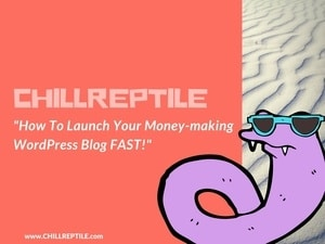 chillreptile start a wordpress blog