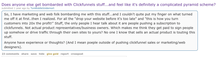 Little Known Questions About Clickfunnels Scams.