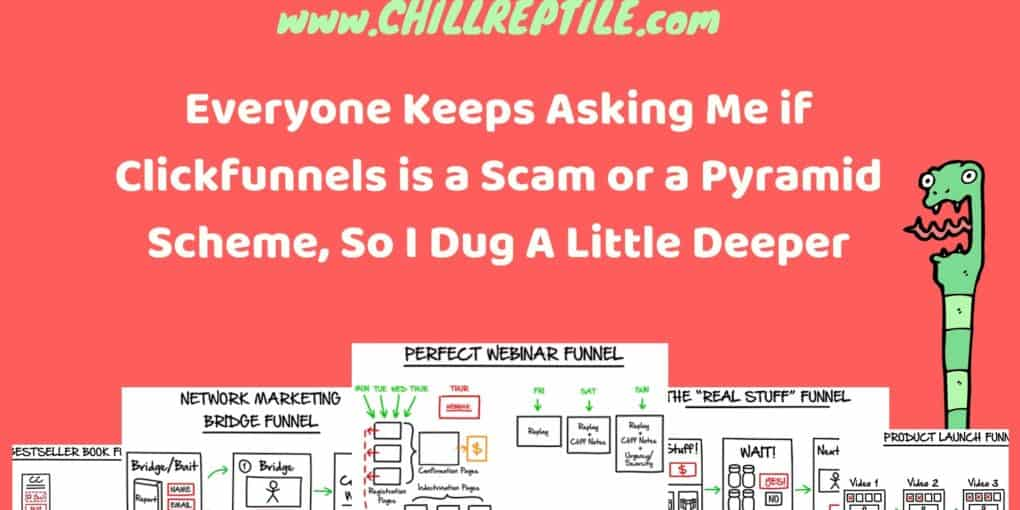 is clickfunnels a pyramid scheme