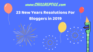 new years resolutions for bloggers 2019