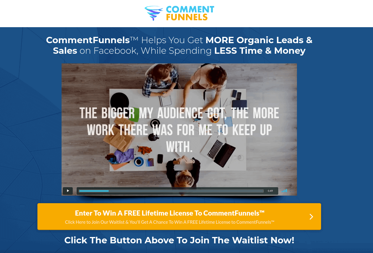 What is CommentFunnels