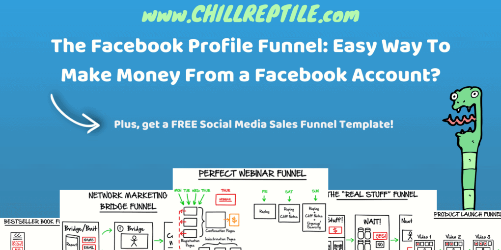 Facebook Profile Funnel - Social Media Sales Funnel Template