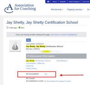 Jay Shetty Association For Coaching
