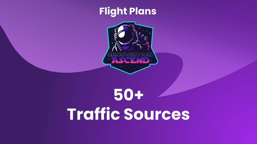 GrooveStars Ascend Flight Plans