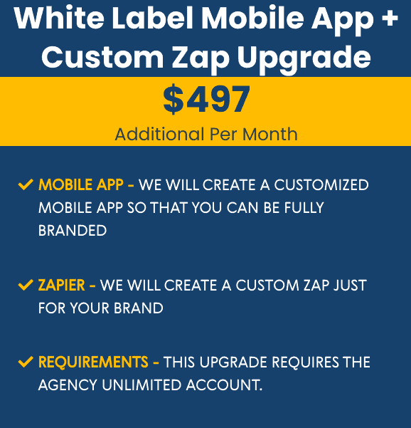 go high level white lable pricing