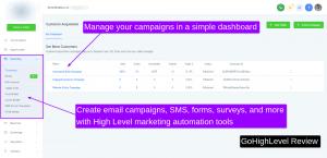 gohighlevel marketing automation