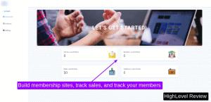 gohighlevel membership sites