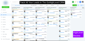 GoHighLevel CRM Dashboard