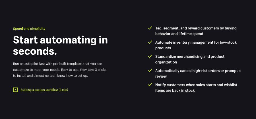 shopify plus automations