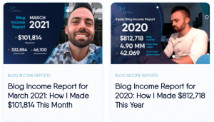 adam enfroy income reports