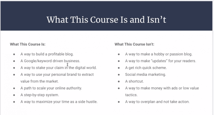 what will you learn in adam enfroy's blog growth engine